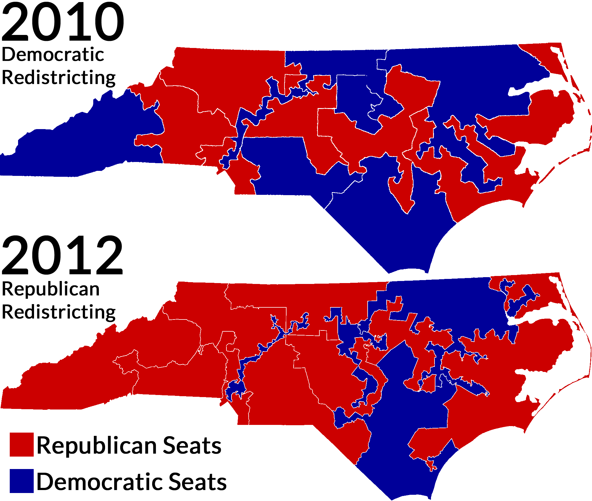 Image result for gerrymandered map