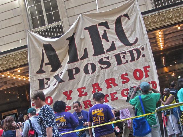 ALEC_Protest