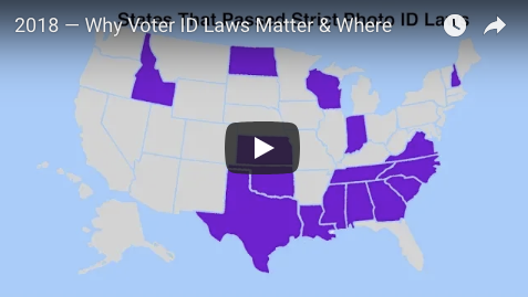 Why Voter ID Laws Matter & Where